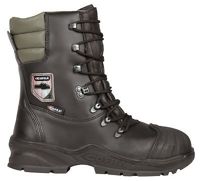 £86.99 • Buy Cofra Power Black Lace Up Safety Work Class 2 Chainsaw Toecap Boots