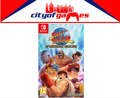 AU51.95 • Buy Street Fighter 30th Anniversary Collection Nintendo Switch Game New In Stock