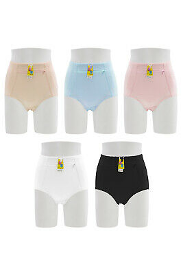 $17.99 • Buy Lot 6 Tummy Control Panties Brief Front Zipper Pocket S M L XL 2XL 3XL 4XL S105