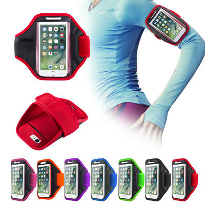 IPhone Gym Running Armband Jogging Sports Exercise Holder Strap For Apple Mobile • 4.95£