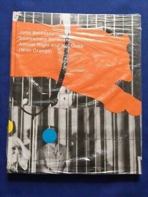 £71.95 • Buy John Baldessari: Somewhere Between Almost Right And Not Quite (with Orange)