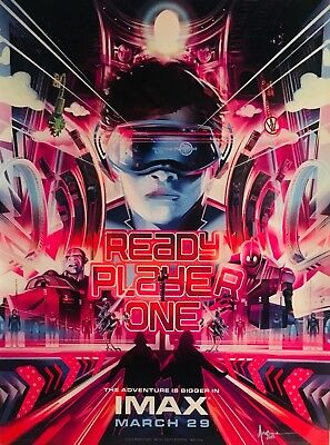 "$ CDN33.13 • Buy TWO Ready Player One 13.5"" X 18  Movie Posters Unrolled Shipped NOT A REPRINT!"