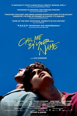 AU9.99 • Buy 004 Call Me By Your Name - Romance 2017 USA Movie 24 X36  Poster