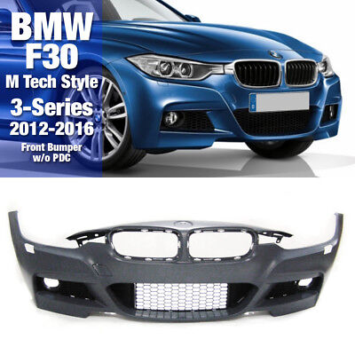 $399.98 • Buy M Tech Sports Style Front Bumper Molding Without PDC For BMW 2012-16 3Series F30