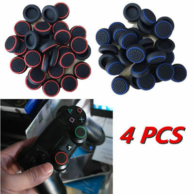 AU10.95 • Buy 4 X Analog PS4 Controller Thumb Stick Grip Thumbstick Cap Cover For PS4 Joystick