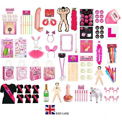 HEN PARTY BAG FAVOURS Bride To Be Girls Ladies Night Hen Do Goodies Filler UK • 3.60£