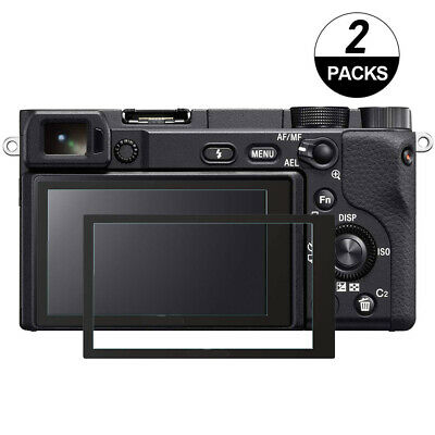 $ CDN10.19 • Buy Sony Alpha A6500 Touch Screen Protector Foils 9H Optical Tempered Glass-2Pack