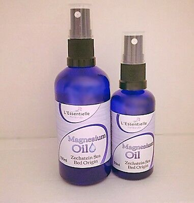 Magnesium Oil Spray 50ml & 100ml  For Aches & Pains Duo Set Kit Zechstein Seabed • 11.99£