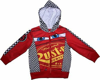 Disney Cars Race Time Zip Hood Jumper   • 12.49£
