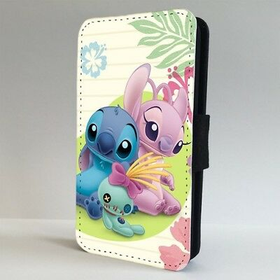Lilo Stitch Girlfriend Disney FLIP PHONE CASE COVER For IPHONE SAMSUNG • 9.95£