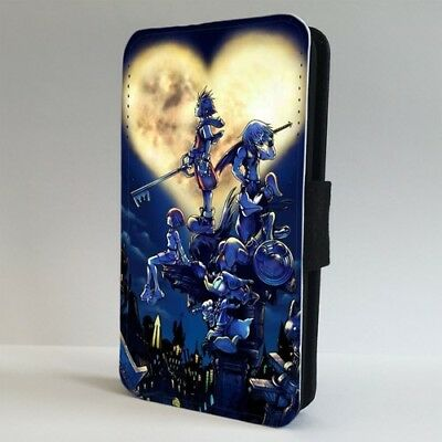 £9.95 • Buy Kingdom Hearts Japanese Anamie Art FLIP PHONE CASE COVER For IPHONE SAMSUNG