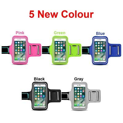 AU6.99 • Buy Sport Gym Color Armband Arm Case Running Exercise For Apple IPhone 8 7 X 6S Plus