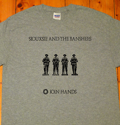 Siouxsie And The Banshees, Join Hands, Post Punk, New Wave 1979- PRINTED T-SHIRT • 11.49£