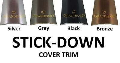 Stick-Down Cover Tile To Laminate Or Wood - Strip Threshold / Metal Door Bar • 8.95£