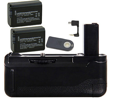 $ CDN66.63 • Buy Vertical Battery Grip For Sony A6300 Camera With IR Remote & 2X NP-FW50 Battery