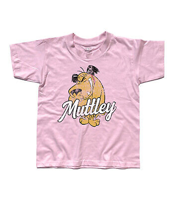 T-Shirt Child Muttley 1 Dick Dastardly Wacky Races, Penelope Pit Stop Clyde • 15.71£