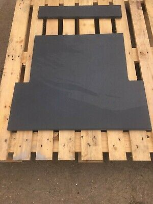 Natural Slate Fire Hearth | 120cm X 60cm  |  Blue-Black Or Grey Colour Available • 201£