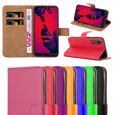 Huawei P20 / P20 Pro / P20 Lite Phone Case Magnetic Flip Leather Wallet Cover • 4.45£
