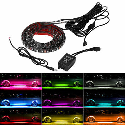 $21.59 • Buy 8 Colors 5050 LED Strip Light W/Remote Universal Waterproof Control Neon Lights