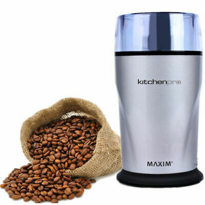 AU32.50 • Buy Maxim Electric 130W Herbs/Spices/Nuts/Coffee Bean Grinder/Grinding/Mill