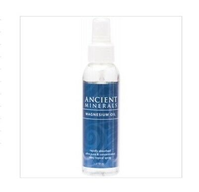 ✅Ancient Minerals MAGNESIUM OIL Full Strength Spray 118ml - RAPID ABSORBTION • 15.47£
