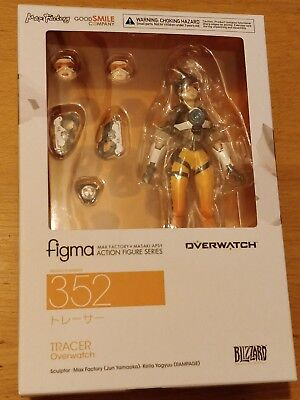 AU163.93 • Buy Blizzard Overwatch Tracer Figma Figure  - New And Sealed