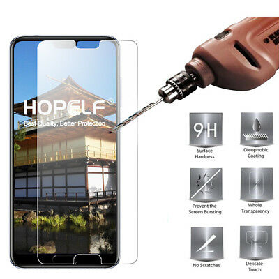 Tempered Glass Screen Protector Premium Protection For Huawei P20 Pro (2018) • 1.45£
