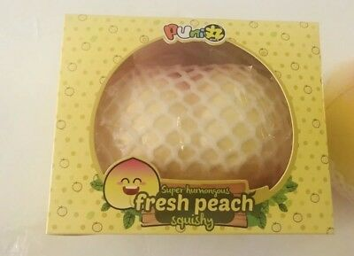 AU49.07 • Buy RARE MEGA Peach PUNI-MARU Squishies (YELLOW)