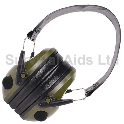 £36.95 • Buy Electronic Rifleman ACH Ear Defenders, Olive Green
