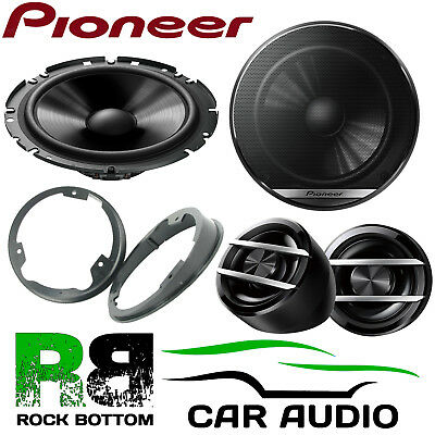£59.99 • Buy Pioneer Ford Galaxy 2006 On On 600W Component Kit Front Door Car Speakers