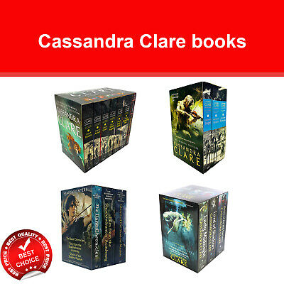 Cassandra Clare Books Series Collection Set Mortal Instruments Infernal Devices  • 12.84£