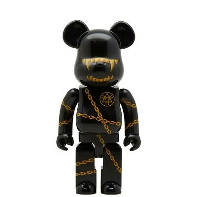 $135 • Buy Medicom BE@RBRICK Mishka X Long 400% Bearbrick Figure