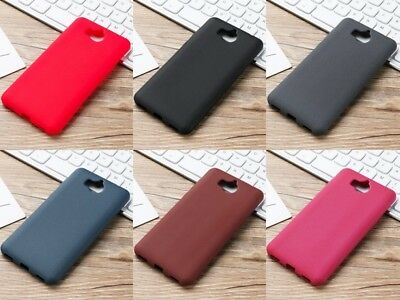 Cover Case Silicone Gel Rubber Matt For Huawei Honour 6 Play 2017 • 4.94£