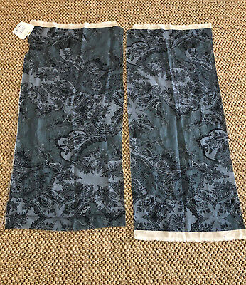 $80 • Buy Etro  Lanark  Fabric Remnants In Color  Blue Ocean