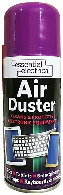 200ml Compressed Air Duster Cleaner Can,Canned For Laptop Keyboard Mouse • 5.99£