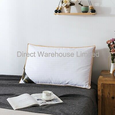 100% Pure Hungarian Goose Down Pillows Luxury Hotel Quality - 1000g Fill • 34.99£