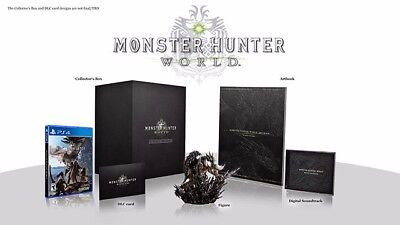 AU380 • Buy PS4 Monster Hunter World Collector's Edition HK Chinese/English Limited Version