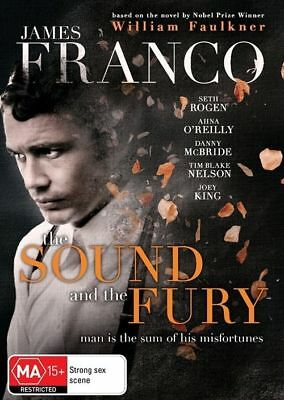 AU12.45 • Buy The Sound And The Fury (DVD) James Franco William Faulkner [Region 4] NEW/SEALED