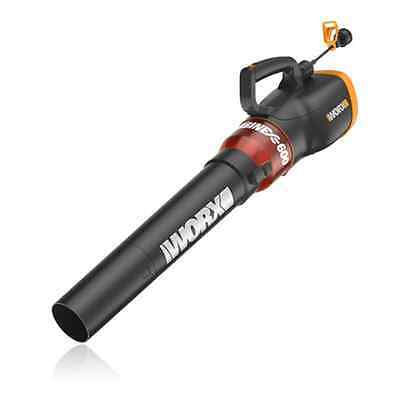 View Details WORX WG520 TURBINE 600 12 Amp Electric Leaf Blower With Variable-Speed Control • 44.99$