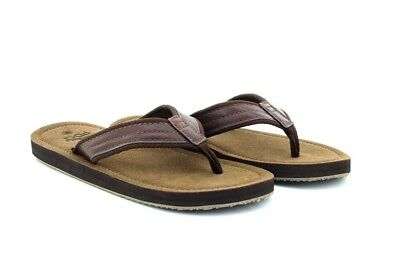 PDQ M641 Mens Mike Toe Post Flip Flop Summer Mule Sandals • 12.99£