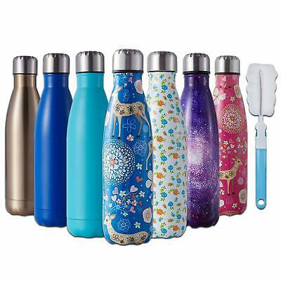 AU23.89 • Buy 350ml-1L Thermos Vacuum Flask Insulated Drink Water Bottle Cup Steel Double Wall