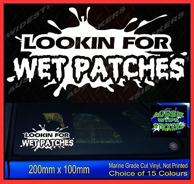 AU6.90 • Buy 4x4 Stickers Mud 4wd Funny Rude Car WET PATCH 200mm