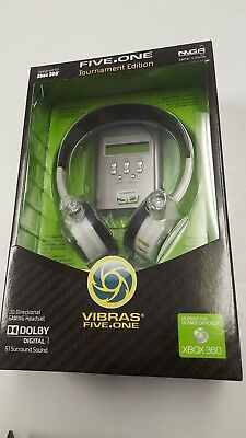 £12.13 • Buy VIBRAS - FIVE.ONE. 3D Directional Gaming Head Phones XBOX