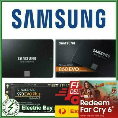 AU96 • Buy Samsung SSD 860 EVO 2.5  970 EVO PLUS M.2 PCIe NVMe 500GB 1TB 2TB Internal Drive