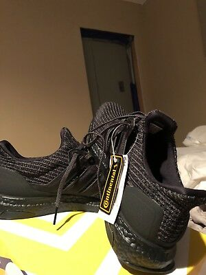 premium selection cb7d0 bd6a4 adidas ultraboost 4.0 triple black