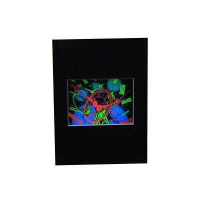 £10.78 • Buy TIME Intermediate Size Hologram Picture MATTED, 3D Embossed Type 5 X7