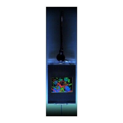 £50.44 • Buy TIME Intermediate Hologram Picture LIGHTED WALL MOUNT, 3D Embossed Type 5 X7