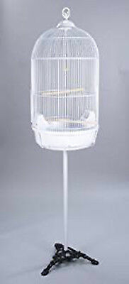 $89.76 • Buy 64  Large Round Dome Bird Cage Finch Canary Cockatiel Parakeet Bird Cage Stand