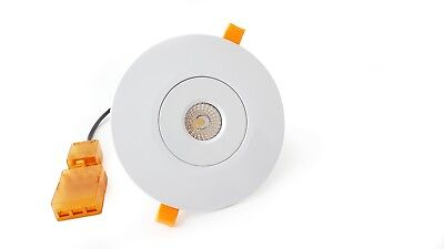 Led Downlight Hole Converter Kit Plate Cover Ring Replaces Existing Fittings • 8.95£