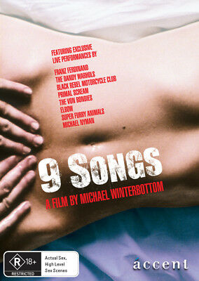 AU17.95 • Buy 9 Songs (DVD) - Banned In South Australia - ACC0038 (limited Stock)